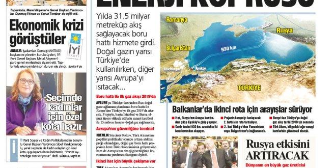 Günün Ulusal Gazete Manşetleri - 20 11 2018