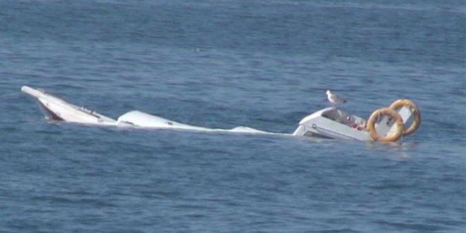 Göçmenleri taşıyan tekne battı:1 kişi öldü