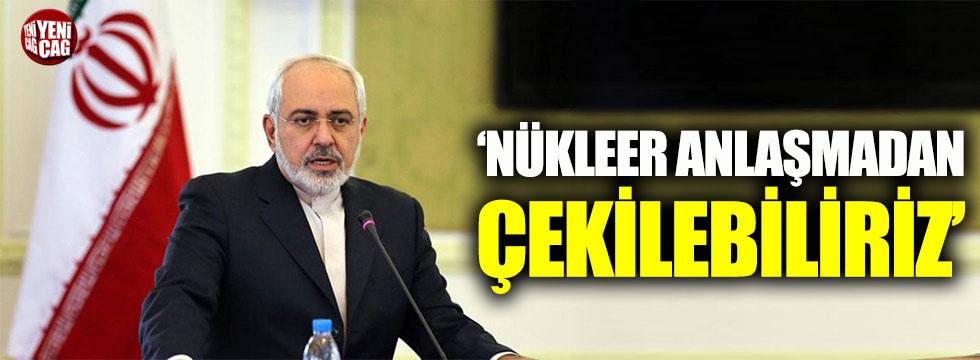 İran Dışişleri Bakanı Zarif: Nükleer anlaşmadan çıkabiliriz