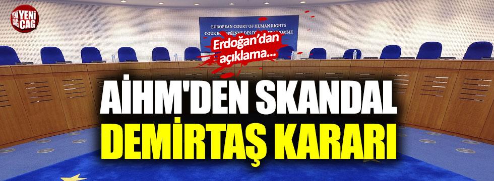 Türkiye'den AİHM'in kararına tepki!