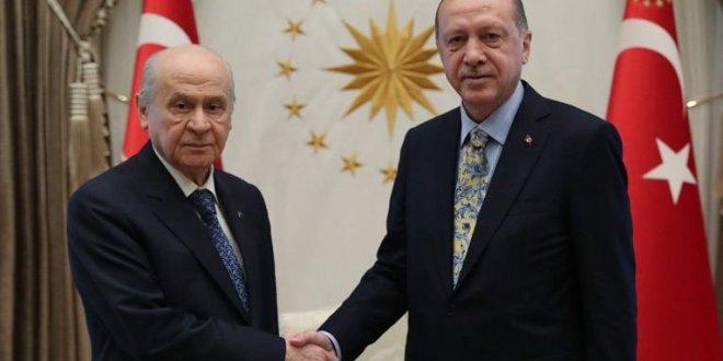 Erdoğan'dan Bahçeli ile ittifak açıklaması