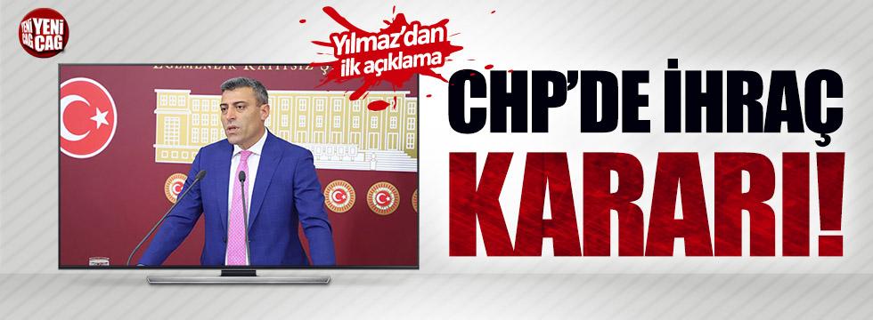 Öztürk Yılmaz CHP'den ihraç edildi!