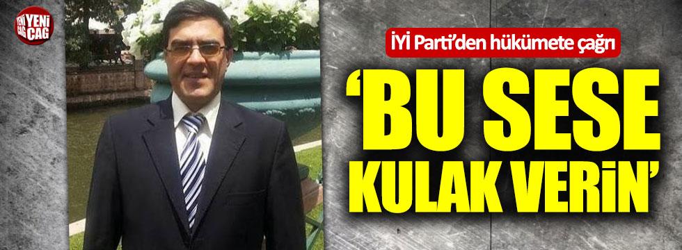 İYİ Parti'den hükümete Cavadbeyli çağrısı