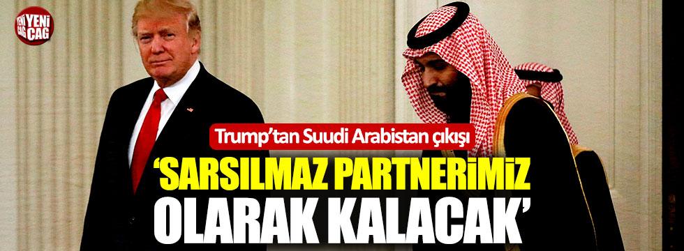 """Trump: """"S.Arabistan sarsılmaz partnerimiz olarak kalacak"""""""