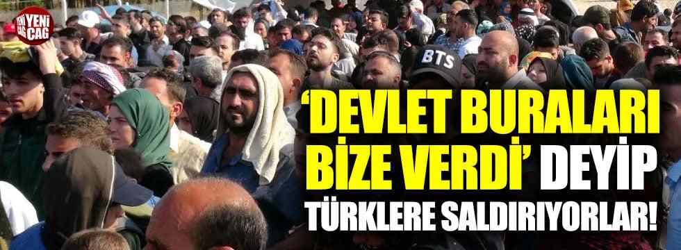 """Suriyeliler """"Buralar bize verildi"""" deyip Türklere saldırıyor!"""