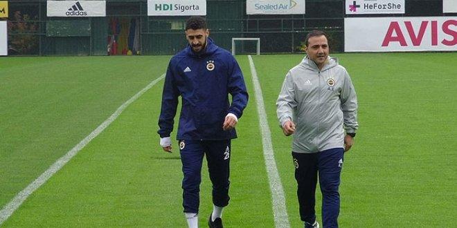 Fenerbahçe'de Tolga Ciğerci ilk kez idmana çıktı
