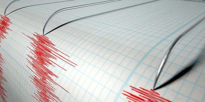 O ülkede deprem