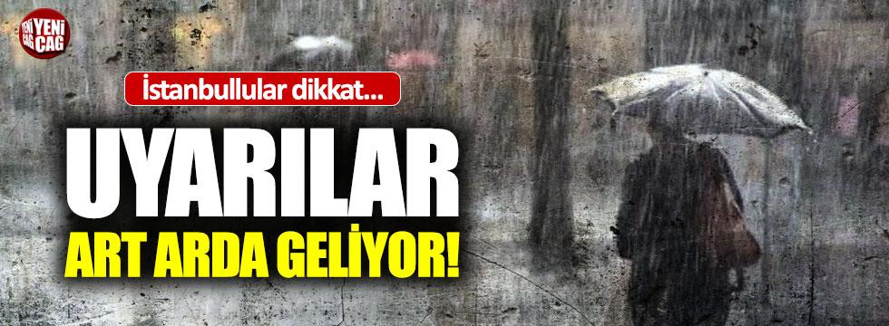 İstanbul için uyarılar art arda geliyor