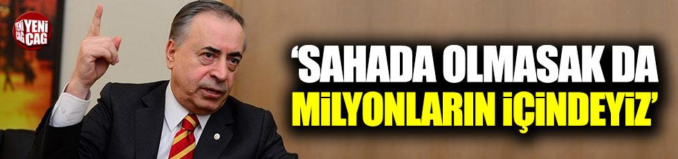 Mustafa Cengiz: Sahada olmasak da milyonların içindeyiz