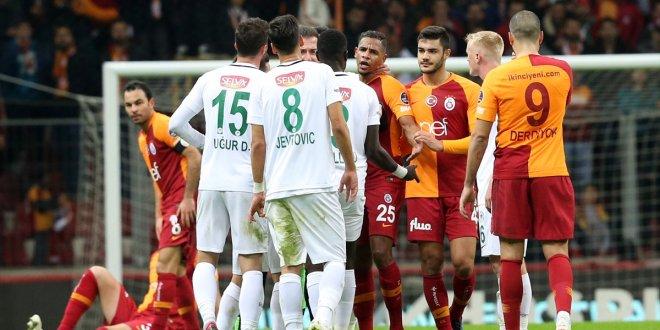Galatasaray 1-1 Konyaspor Maç Özeti