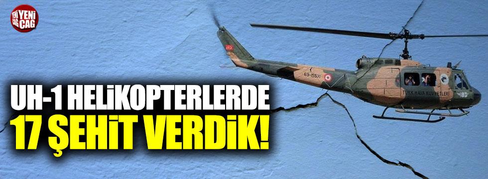 UH-1 helikopterinin kaza karnesi!
