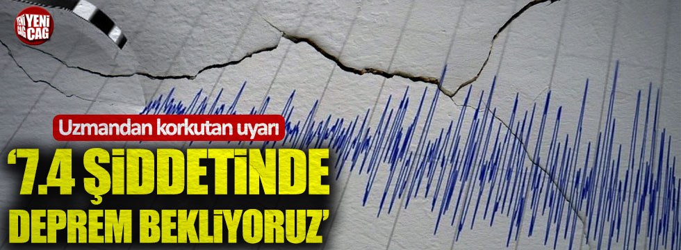 Japon uzman Moriwaki: Marmara'da 7.4 şiddetinde deprem bekliyoruz