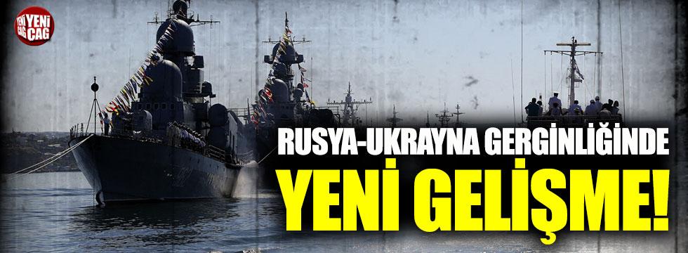 Rusya Azak Denizi'ne mayın gemisi gönderiyor