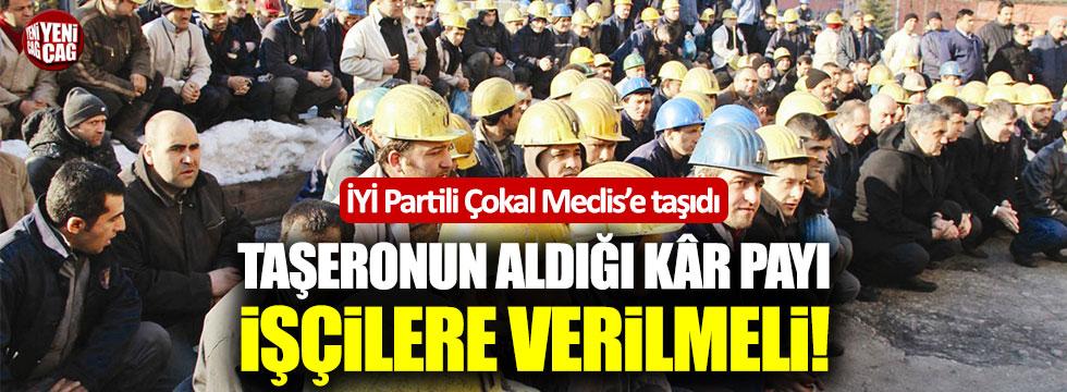 İYİ Partili Tuba Çokal işçilerin sorunlarını Meclis'e taşıdı
