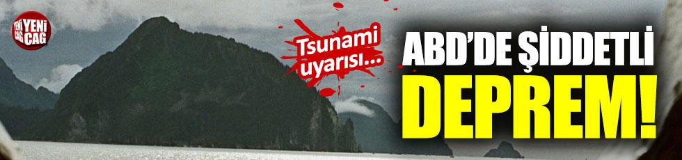 Alaska'da 7.0 büyüklüğünde deprem