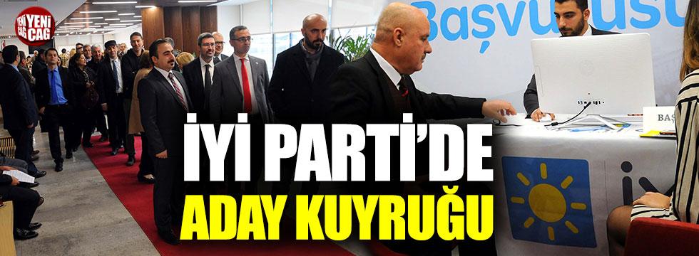 İYİ Parti'de başvuru yoğunluğu