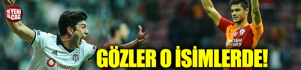 Beşiktaş-Galatasaray derbisine gençler damga vuracak