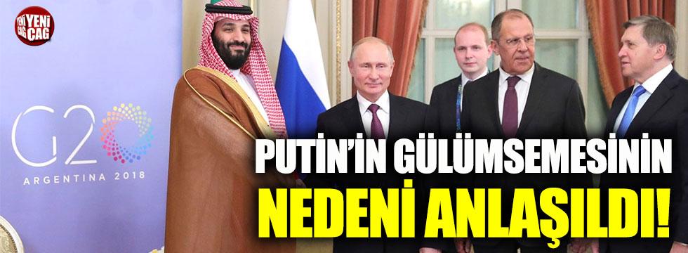 Putin'in gülümsemesinin nedeni anlaşıldı!