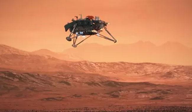 InSight, Elysium Düzlüğü'nün videosunu gönderdi