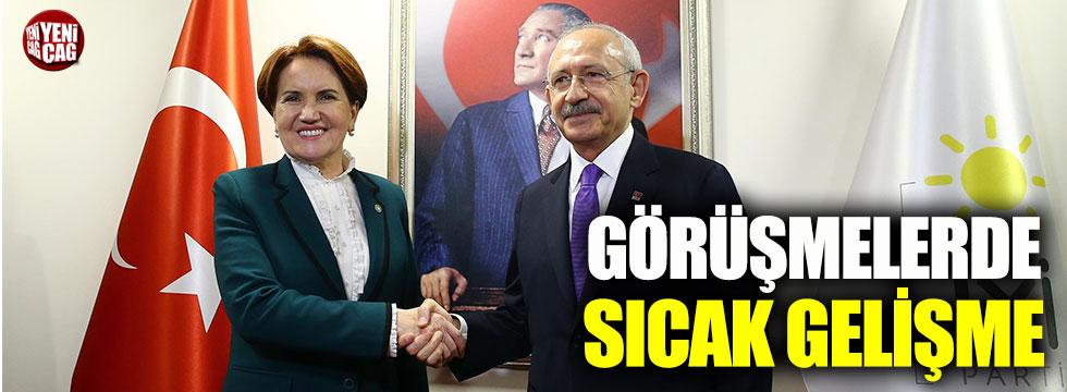 CHP ile İYİ Parti arasındaki görüşmeler tamamlandı