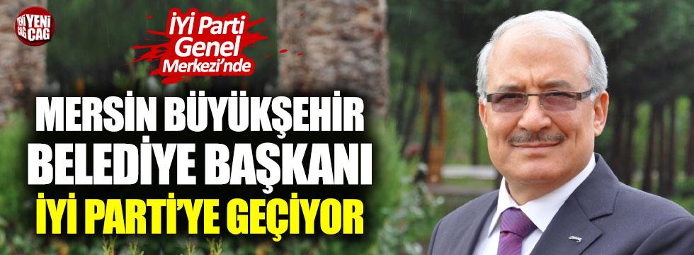 Mersin Büyükşehir Belediye Başkanı İYİ Parti Genel Merkezi'nde