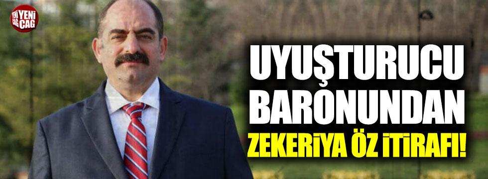 Uyuşturucu baronundan Zekeriya Öz itirafı!