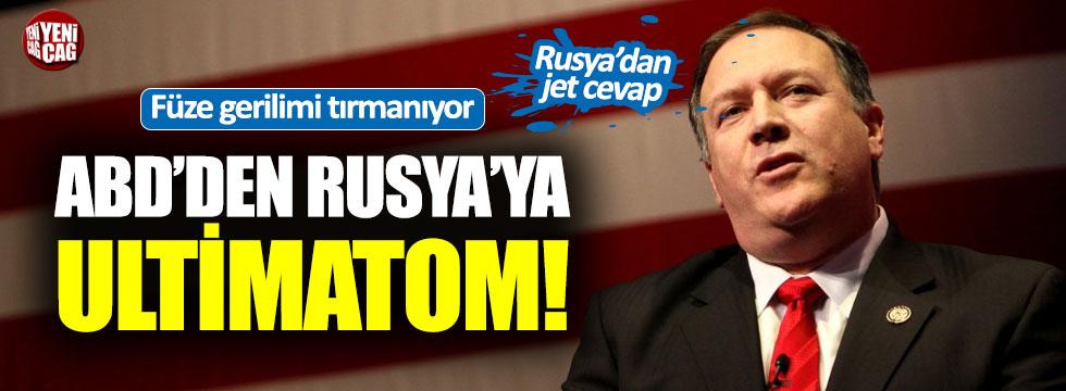 ABD'den Rusya'ya ultimatom