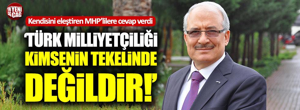 """Burhanettin Kocamaz: """"Türk Milliyetçiliği kimsenin tekelinde değildir"""""""
