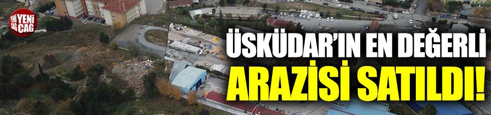 İstanbul Büyükşehir Belediyesi Üsküdar'daki araziyi İGDAŞ'a sattı