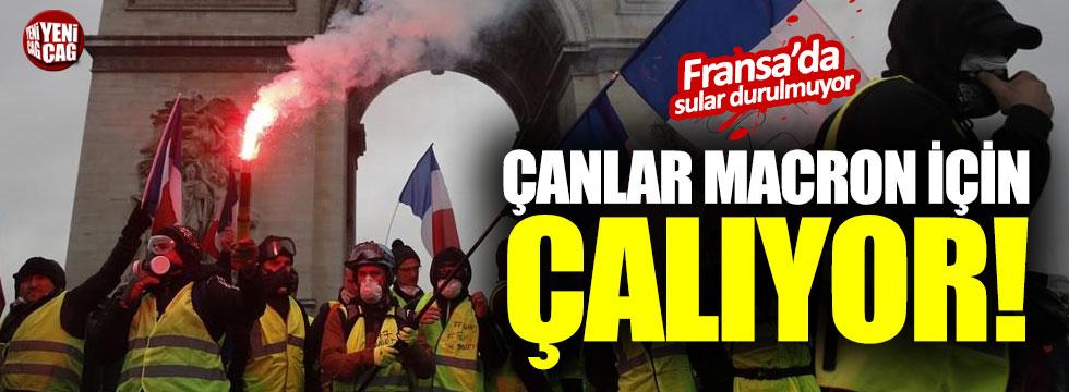 Fransa'da sular durulmuyor