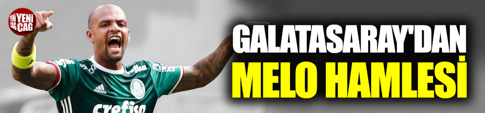 Galatasaray'dan Felipe Melo hamlesi