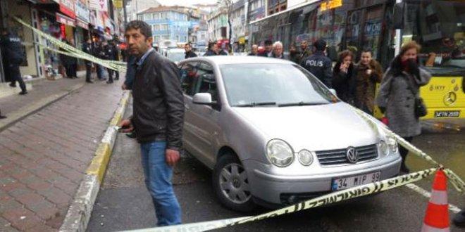 Üsküdar'da silahlı saldırı