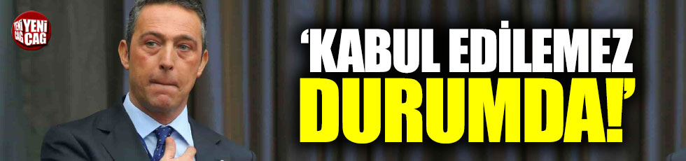 """Ali Koç: """"Eksiklikleri tespit edip çıkışa geçeceğiz"""""""