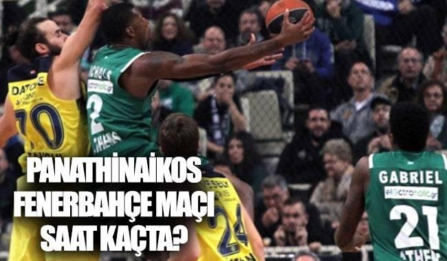 Panathinaikos  Fenerbahçe maçı hangi kanalda, saat kaçta?