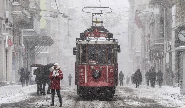 İstanbul'a kar yağışı için tarih verildi!
