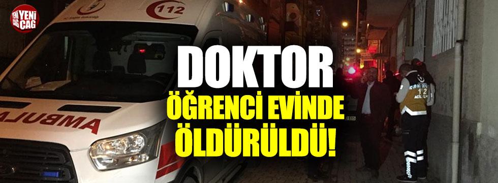 Elazığ'da bir doktor öğrenci evinde bıçaklanarak öldürüldü