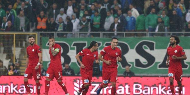 Antalyaspor şampiyonluk potasına girdi