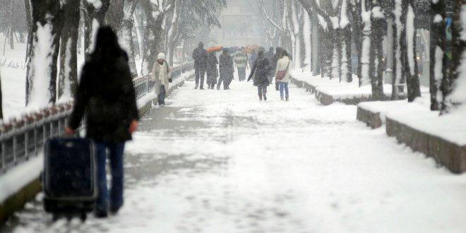 Meteorolojiden 6 il için kar uyarısı