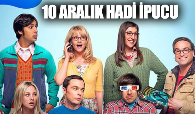 10 Aralık Hadi ipucu:Sheldon Cooper karakterinin yer aldığı dizi hangisi?