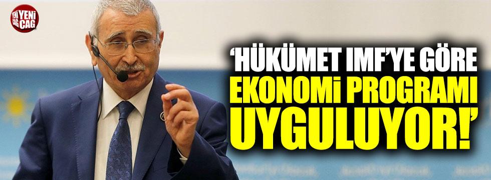 Durmuş Yılmaz'dan IMF açıklaması