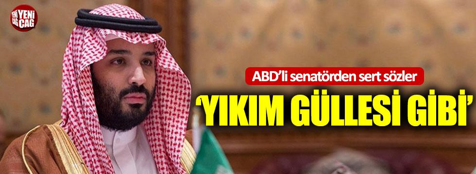 Cumhuriyetçi Senatör'den Prens Selman'a 'yıkım güllesi' benzetmesi
