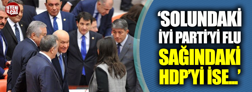 İYİ Parti'li Müsavat Dervişoğlu: Sayın Bahçeli, sağında oturan HDP'yi çok net görüyor