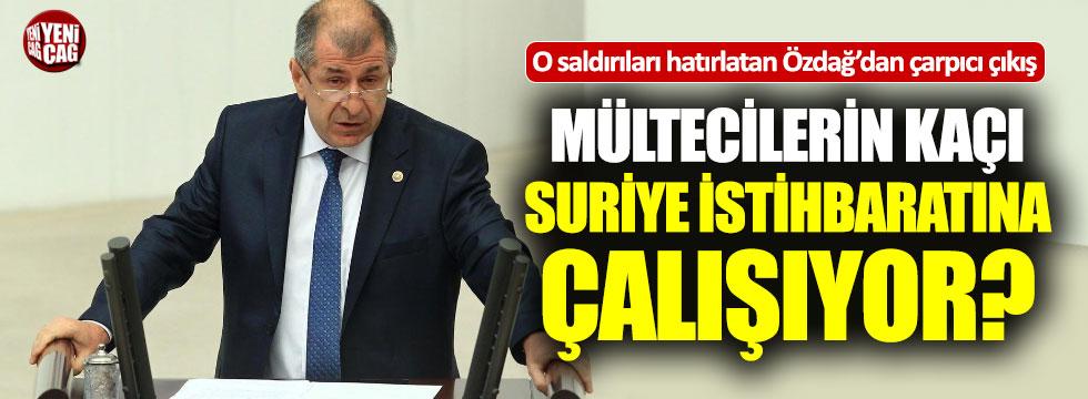 """""""Türkiye'deki mültecilerin kaçı Suriye'nin istihbarat elemanı?"""""""