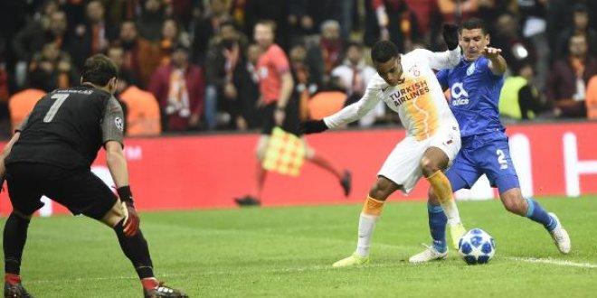 Galatasaray-Porto 2-3 (Maç özeti)