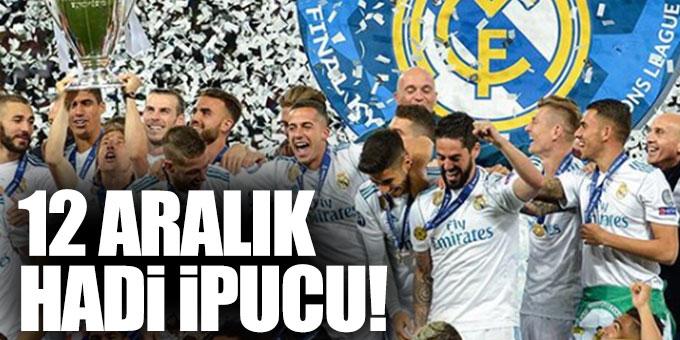Hadi ipucu: 2017-2018 UEFA Şampiyonlar Ligi Kupası'nı kim kazandı?