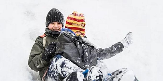 Kars'ta okullar bir gün tatil edildi