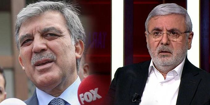 """Mehmet Metiner'den Abdullah Gül'e, """"Yanlış yoldasın"""""""