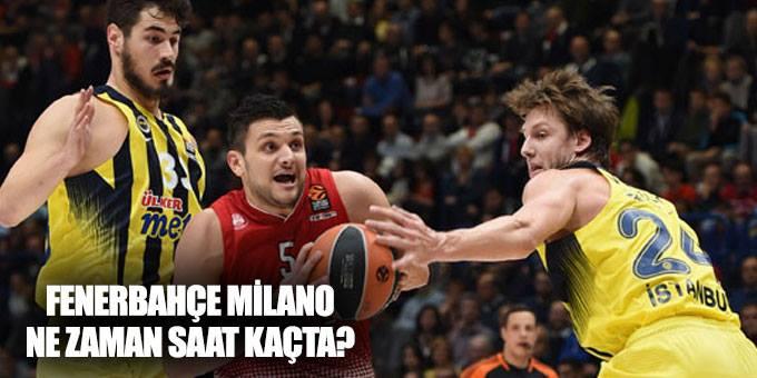 Fenerbahçe Milano maçı ne zaman, saat kaçta?