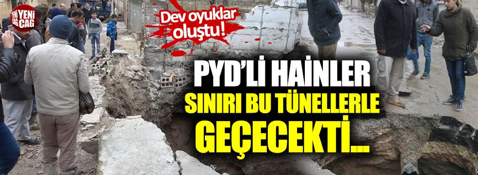 PYD'li hainler şehre tünellerden girecekti...