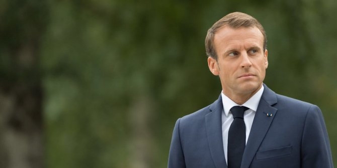 Fransa'da Macron ve hükümet karşıtı gösteri